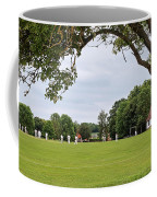 Lazy Sunday Afternoon - Cricket On The Village Green Coffee Mug