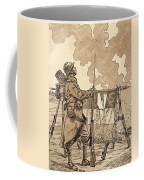 Le Bleuet. Symbol Of Memory And Solidarity In France, For Veterans And Victims Of The First World Coffee Mug