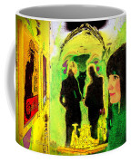 Le Chat Noir Coffee Mug by Chuck Staley