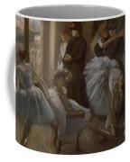 Le Foyer De L'opera Coffee Mug by Edgar Degas