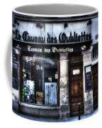 Le Taveau Des Oubliettes Paris France Coffee Mug