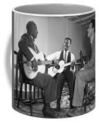 Leadbelly, Josh White, Nicholas Ray Coffee Mug