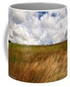 Leaden Clouds Over Field Coffee Mug