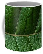 Leaf Close Up Coffee Mug