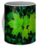 Leaf Overlay Coffee Mug