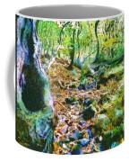 Leaf Stream Coffee Mug