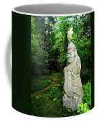 Leafy Path And Statuary Abby Aldrich Garden Coffee Mug