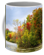 Leaning Into Autumn Coffee Mug
