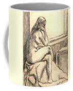 Leaning Into The Day Coffee Mug