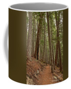 Leaning Over The Trail Coffee Mug