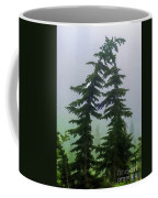 Leaning Trees Coffee Mug