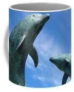 Leaping Dolphins In The Isles Of Scilly Coffee Mug