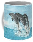 Leaping Dolphins Coffee Mug