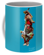 Leaping Into The Air Coffee Mug by Kathleen Struckle