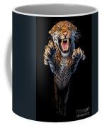 Leaping Leopard Coffee Mug