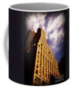 Leaps Tall Buildings With A Single Bound - Skyscraper Coffee Mug