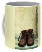 Leather Children Boots Coffee Mug