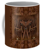 Leather Man In A Leather Collage Coffee Mug