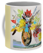 Leaves And Fronds Coffee Mug