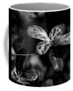 Leaves - Bw Coffee Mug