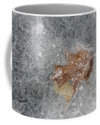 Leaves In Ice Coffee Mug