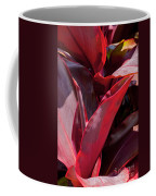 Leaves Of The Red Ti Plant Coffee Mug