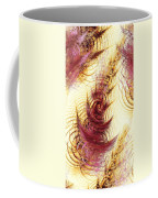 Leaves On A Water Coffee Mug by Anastasiya Malakhova