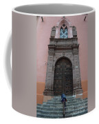 Leaving Church Lighthearted Coffee Mug