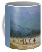 Leaving The Beach Coffee Mug