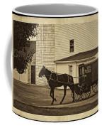 Leaving The Farm Coffee Mug