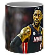 Lebron Coffee Mug by Florian Rodarte