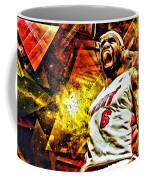 Lebron James Art Poster Coffee Mug by Florian Rodarte