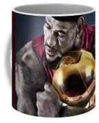 Lebron James - My Way Coffee Mug by Reggie Duffie
