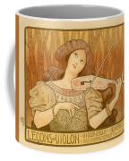 Lecons De Violon Coffee Mug