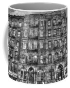 Led Zeppelin Physical Graffiti Building In Black And White Coffee Mug
