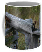 Left Behind At The Marsh Coffee Mug by Denyse Duhaime