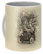 Left Fielder Antique Coffee Mug