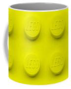 Lego Block Yellow Coffee Mug