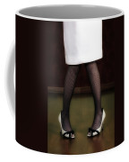 Legs And Shoes Coffee Mug by Joana Kruse