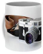 Leica M3 With Leather Strap Coffee Mug