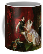 Leicester And Amy Robsart At Cumnor Coffee Mug