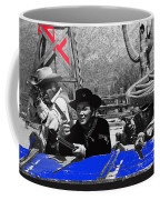 Leif Erickson Cameron Mitchell  Mark Slade Number 1 The High Chaparral Set Old Tucson Az 1969 Coffee Mug by David Lee Guss