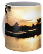 Lely Sunrise Over The Flamingo Coffee Mug