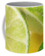 Lemon And Lime Slices In Water Coffee Mug