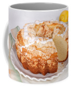 Lemon Bundtcake With Wedge Cut Out Coffee Mug