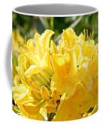 Lemon Drop Azalea Coffee Mug
