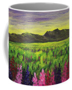 Lemon Yellow Sunset Coffee Mug
