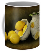 Lemons Today Coffee Mug by Diana Angstadt