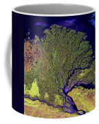 Lena River Delta Coffee Mug by Adam Romanowicz