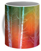 Lens Flare In The Forest Coffee Mug